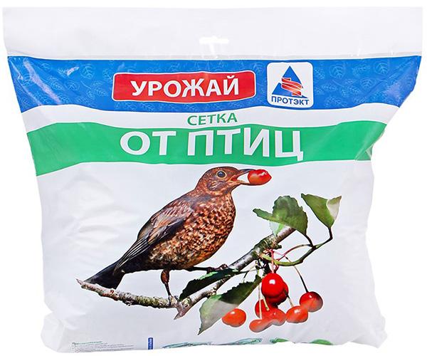 Сетка от птиц ПРОТЭКТ У-6/2/5 (2 × 5 м, хаки)