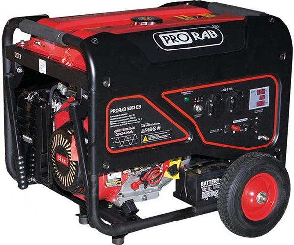 Бензиновый электрогенератор PRORAB 5503 EB