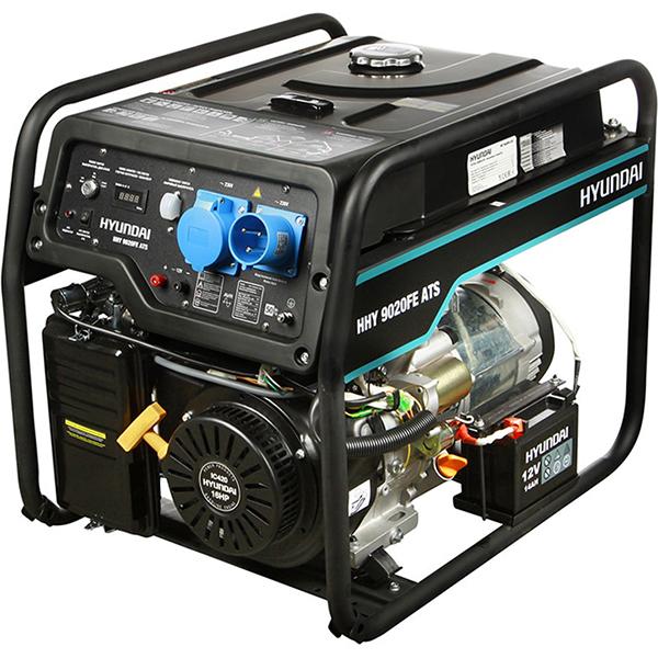 Бензиновый электрогенератор HYUNDAI HHY 9020FE ATS