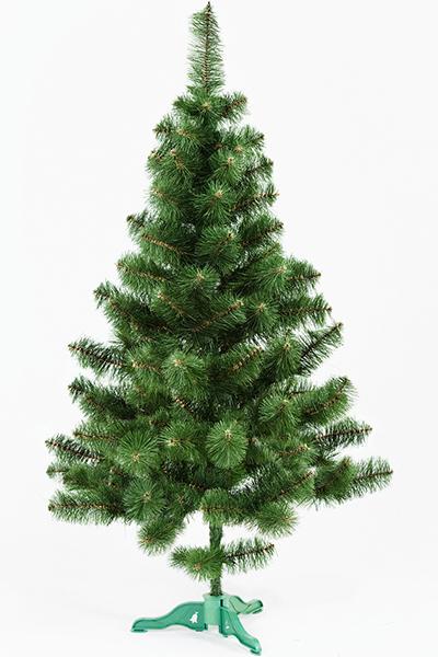 Ель искусственная «ПРИНЦЕССА» (зелёная с инеем, 160 см)