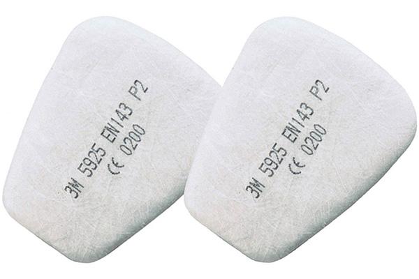 Противоаэрозольный предфильтр 3M 5925 P2 (комплект 2 шт.)