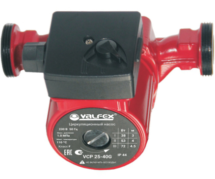 Насос циркуляционный VALFEX VCP 25-40G