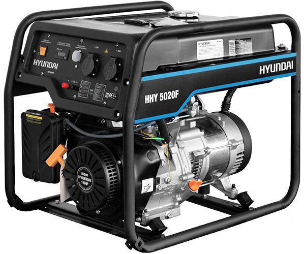 Бензиновый электрогенератор HYUNDAI HHY 5020FE