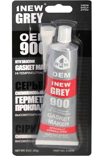 Герметик прокладок силиконовый 1NEW GREY (серый, тюбик 85 г)