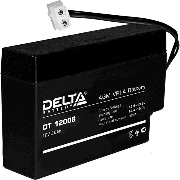 Аккумуляторная батарея DELTA DT 12008(T13)