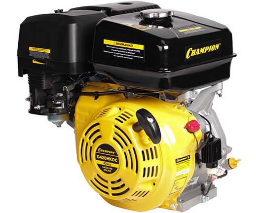 Двигатель бензиновый 4-тактный CHAMPION G420HKDC