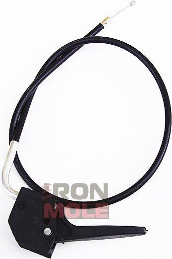 Рычаг газа с тросиком для мотобуров IRON MOLE C5/C6
