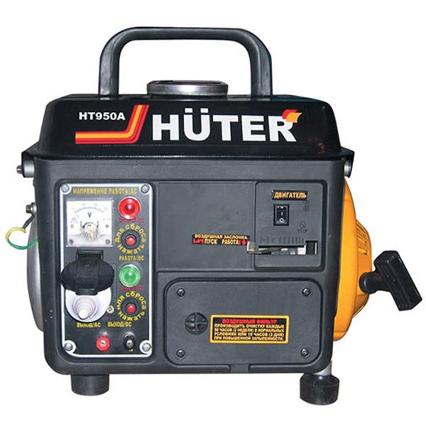 Бензиновый электрогенератор HUTER HT950A