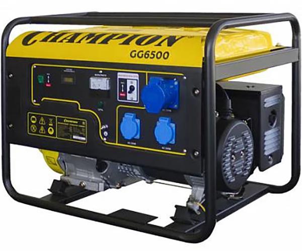 Бензиновый электрогенератор CHAMPION GG6500
