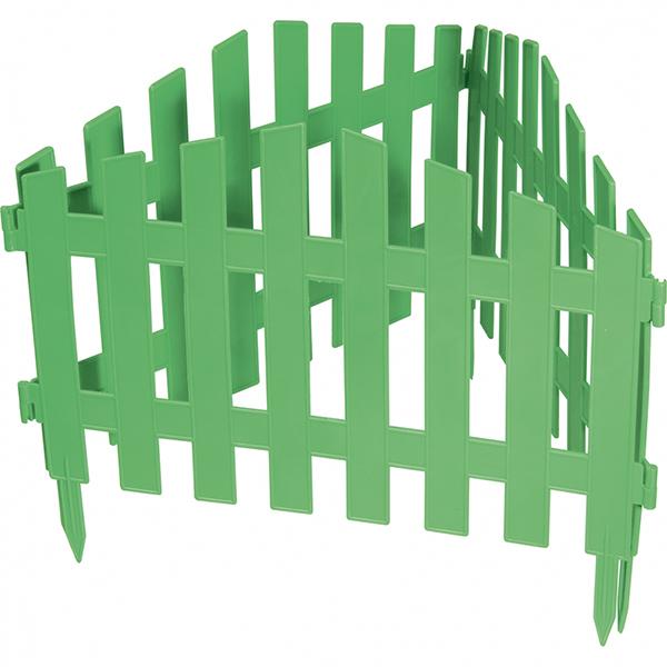 Декоративное ограждение «Марокко» (0,28 × 3 м, зелёный)
