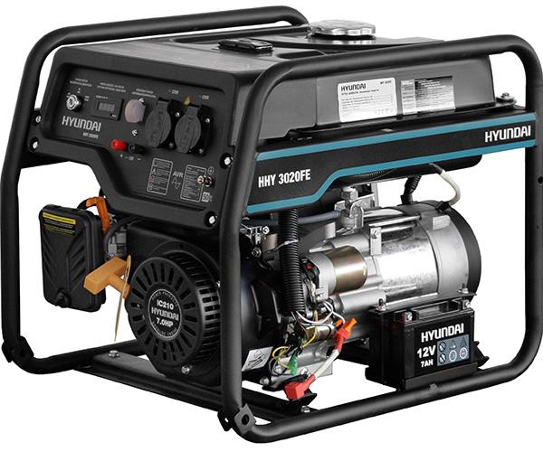 Бензиновый электрогенератор HYUNDAI HHY 3020FE
