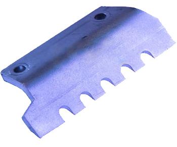 Нож для льда FISHTOOL Barracuda 200 мм (прямой зубчатый)