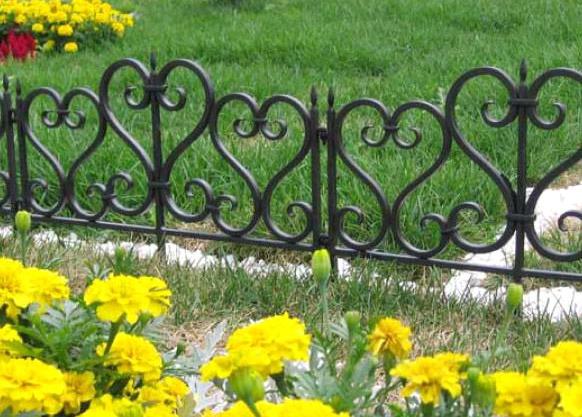 Садовые декоративные ограждения