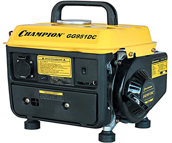 Бензиновый электрогенератор CHAMPION GG951DC