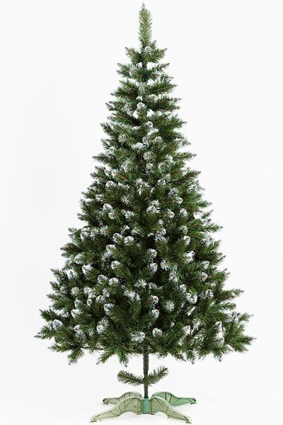 Ель искусственная «ЛИДИЯ» (зелёная с инеем, 200 см)