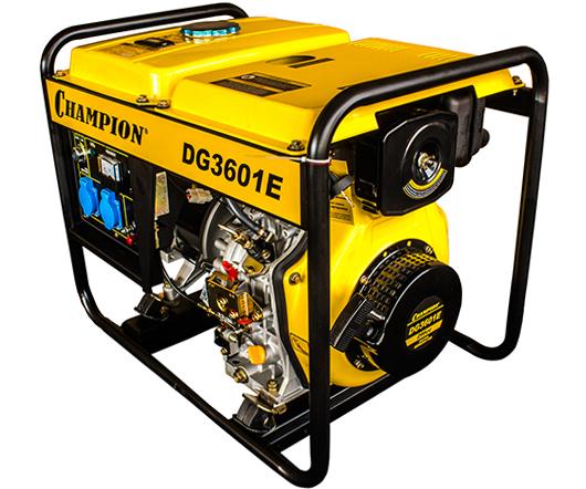 Дизельный электрогенератор CHAMPION DG 3601E