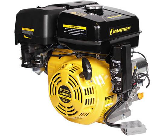 Двигатель бензиновый 4-тактный CHAMPION G420HKE