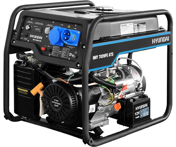 Бензиновый электрогенератор HYUNDAI HHY 7020FE ATS