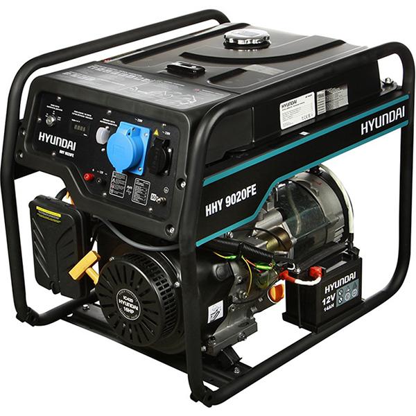 Бензиновый электрогенератор HYUNDAI HHY 9020FE