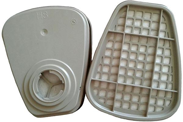 Фильтр для защиты от газов и паров к полумаскам и маскам 3M (комплект 2 шт.)