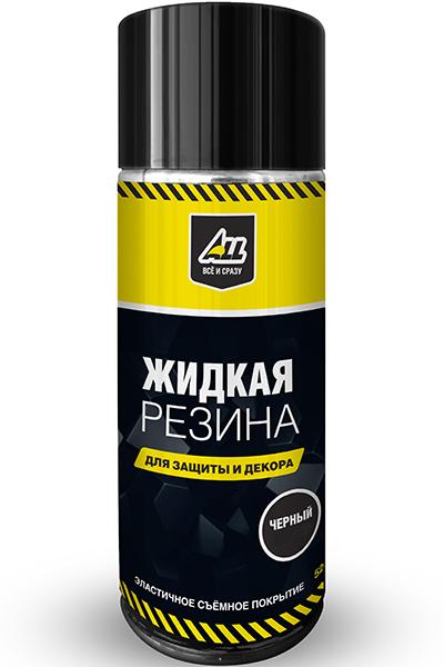 Жидкая резина ALL-0105 (чёрная глянцевая, спрей 520 мл)