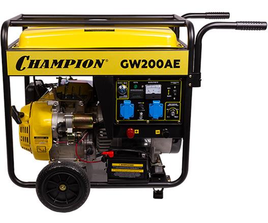 Сварочный генератор CHAMPION GW200AE