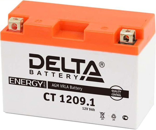 Аккумуляторная батарея DELTA CT 1209.1