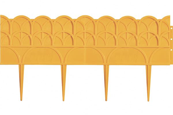 Декоративный бордюр «Прованс» (0,14 × 3,1 м, жёлтый)