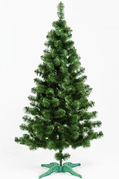 Ель искусственная «ПРИНЦЕССА» (зелёная с инеем, 210 см)