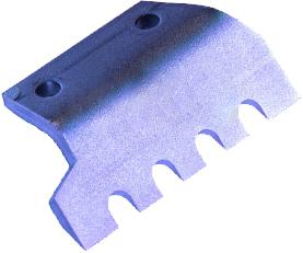 Нож для льда FISHTOOL Barracuda 150 мм (прямой зубчатый)