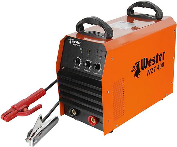 Инвертор сварочный WESTER WZ7 400