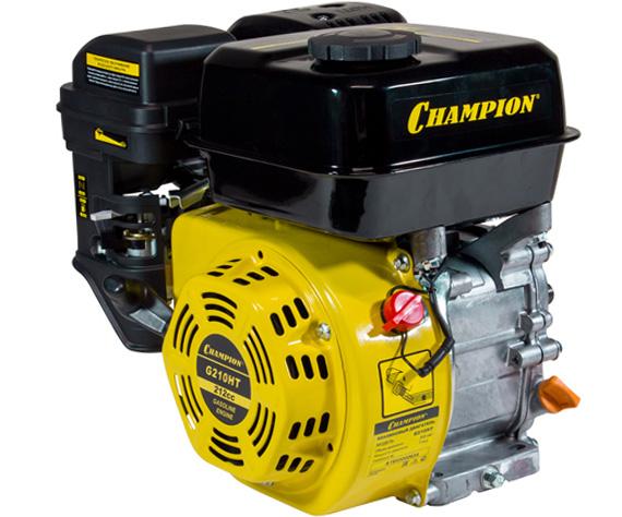 Двигатель бензиновый 4-тактный CHAMPION G210HT