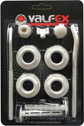 Комплект для монтажа радиаторов VALFEX 3/4'' (2 кронштейна)