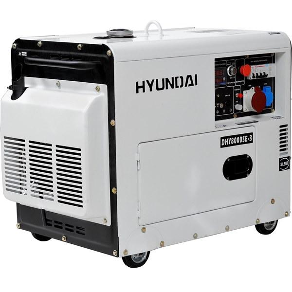 Дизельный электрогенератор HYUNDAI DHY 8000SE-3