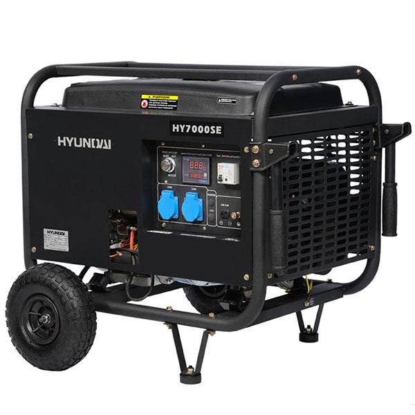 Бензиновый электрогенератор HYUNDAI HY 7000SE