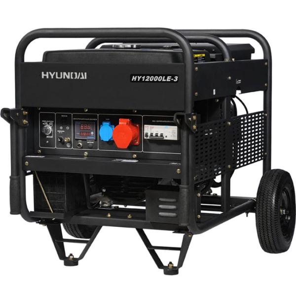 Бензиновый электрогенератор HYUNDAI HY 12000LE-3