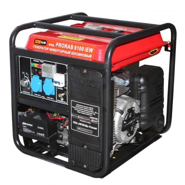 Инверторный бензогенератор PRORAB 6100 IEW