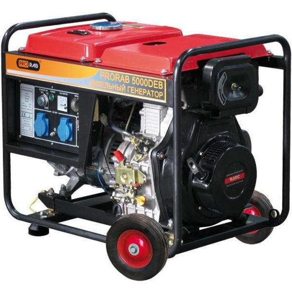 Дизельный электрогенератор PRORAB 5000 DEB