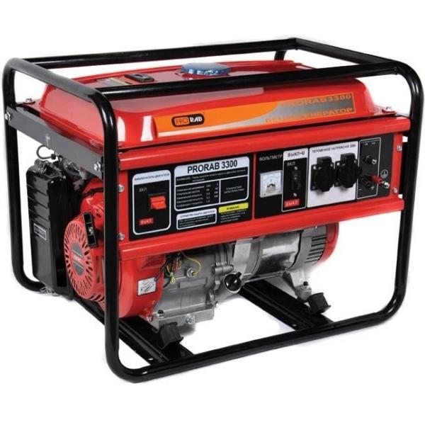 Бензиновый электрогенератор PRORAB 3300