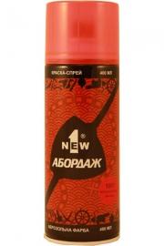 Флуоресцентная краска-спрей 1NEW «ABORDAGE AB-1001» (красная)