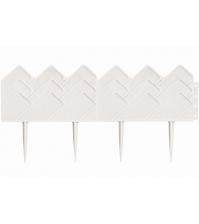 Декоративный бордюр «Кантри» (0,14 × 3,1 м, белый)