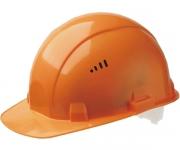 Каска строительная (оранжевая)