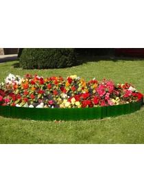 Декоративное ограждение «Лоза» (0,18 × 2,3 м, зелёный)