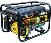 Газобензиновый электрогенератор HUTER DY4000LG