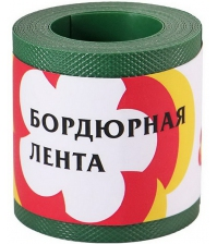 Бордюрная лента ПРОТЭКТ БЛ-10/6 (10 × 600 см, хаки)