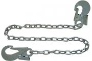 Строп Г (стальная цепь, 2 карабина, длина 1,5 м)