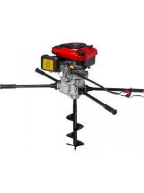 Мотобур ADA GroundDrill-15 HERCULES + шнек для почвы 300х800 мм