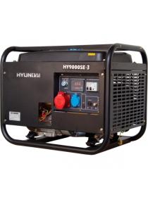 Бензиновый электрогенератор HYUNDAI HY 9000SE-3