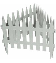 Декоративное ограждение «Рейка» (0,28 × 3 м, белый)