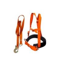 Пояс предохранительный ПП-2АД (Удерживающая страховочная привязь с наплечными лямками УПС-2Д + строп А)